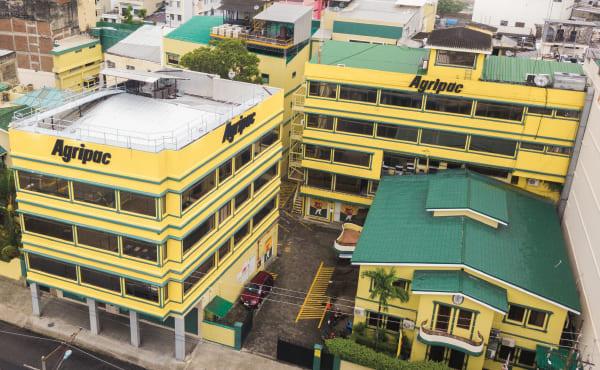 Edificio matriz de Agripac productos agricolas en Ecuador